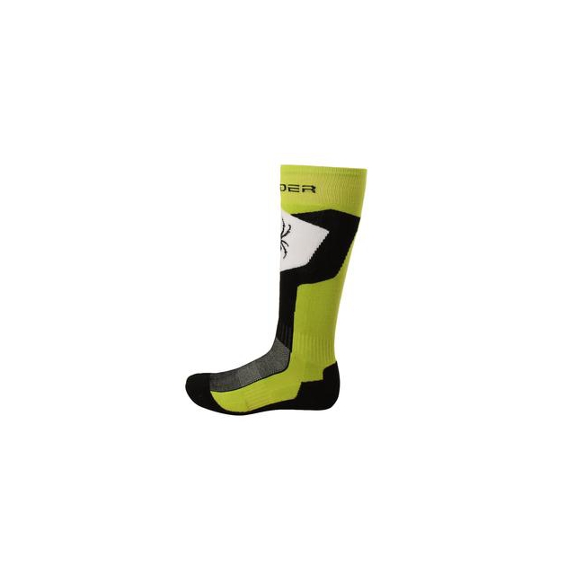 Spyder - Discover Ski Sock Men's, Theory Green/Black/White, L