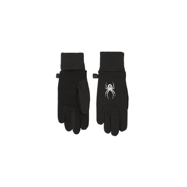 Spyder - Stretch Fleece Conduct Glove Kids', Black, L
