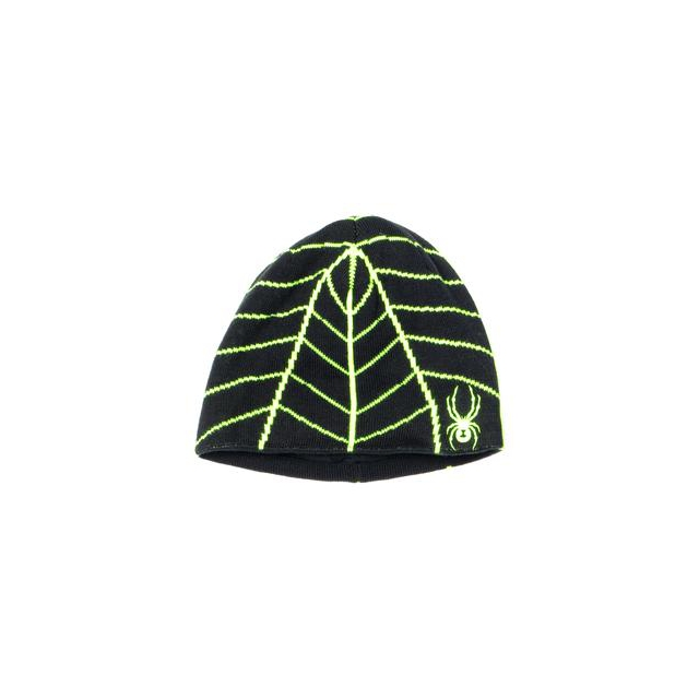 Spyder - Web Hat Boys', Black/Theory Green,