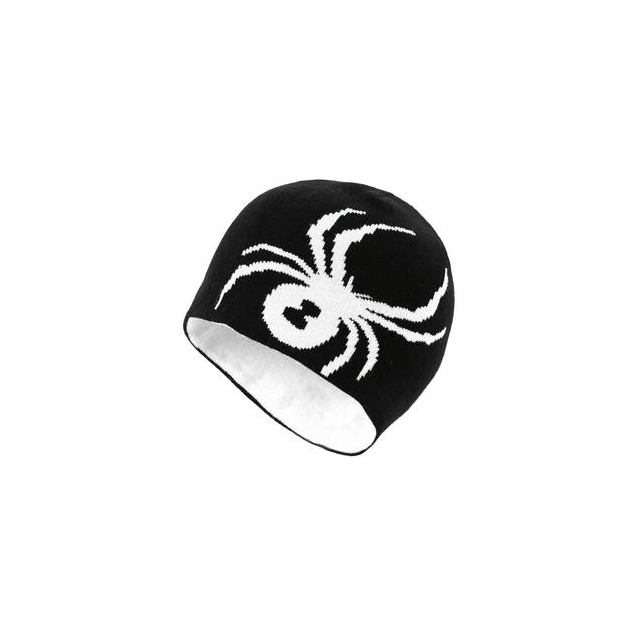 Spyder - Reversible Bug Hat Boys', Black/White,