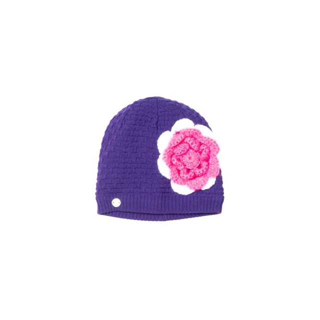 Spyder - Bitsy Rosie Hat Little Girls', Iris/White/Bryte Bubblegum,