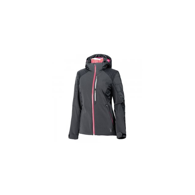 Spyder - Facyt Insulated Ski Jacket Women's, Depth/Bryte Pink/White, 12