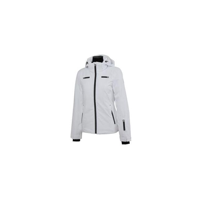 Spyder - Tresh 100 Insulated Ski Jacket Women's, White/Black, 14