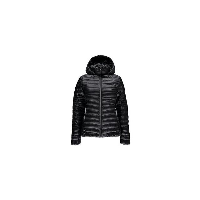 Spyder - Timeless Hoody Down Jacket Women's, Black/Silver, XL