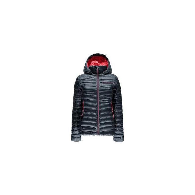 Spyder - Timeless Hoody Down Jacket Women's, Depth/Bryte Pink, XL