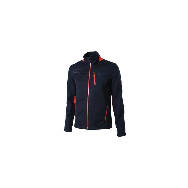 Spyder - Legend Midweight Core Sweater Jacket Men's, Black/Volcano, L