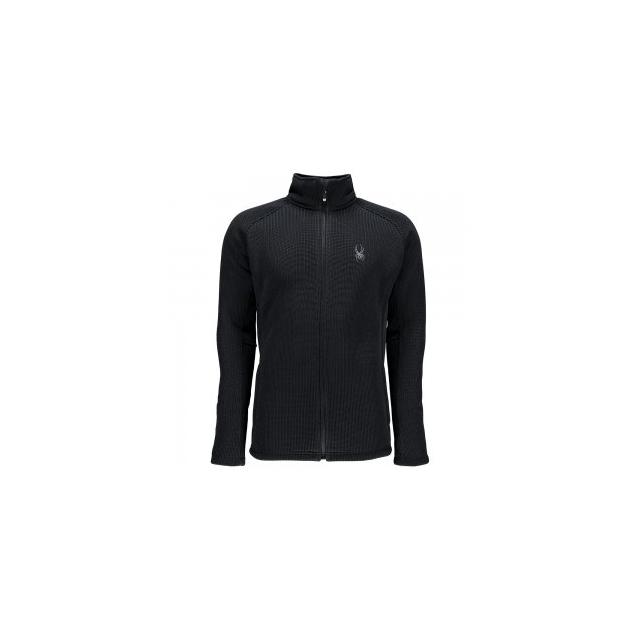 Spyder - Foremost Full Zip Heavy Weight Core Sweater Jacket Men's, Black/Black, 3XL