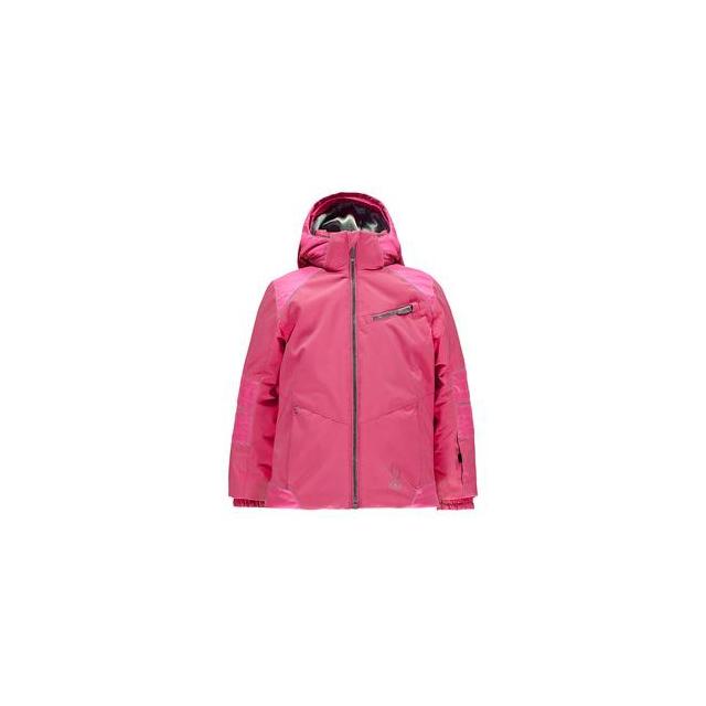 Spyder - Bitsy Radiant Insulated Ski Jacket Little Girls', Bryte Bubblegum/Bryte Bubblegum, 2