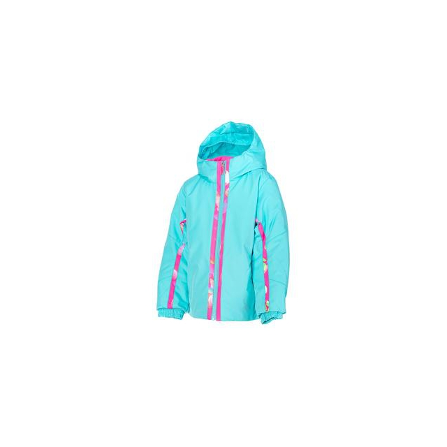 Spyder - Bitsy Charm Insulated Ski Jacket Little Girls', Shatter/Bryte Bubblegum Focus, 6