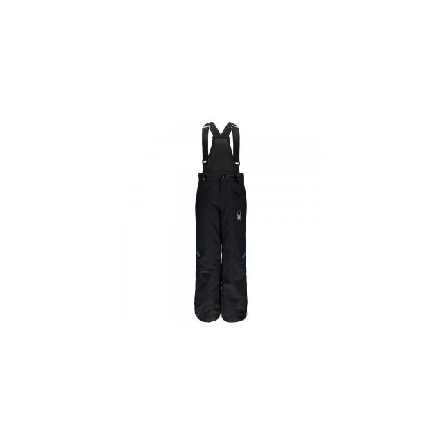 Spyder - Force Ski Pant Boys', Black/Concept Blue/White, 16