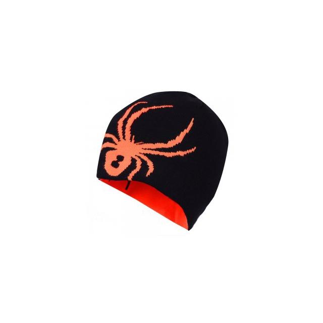 Spyder - Elevation Reversible Hat Men's, Black/Bryte Orange,