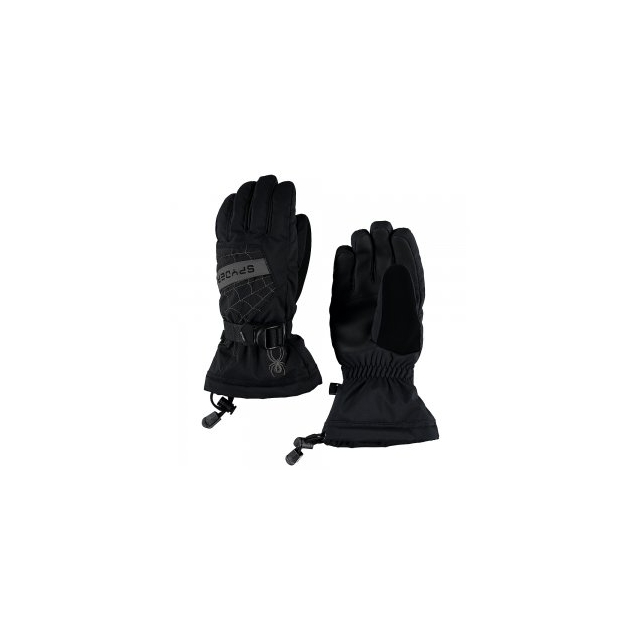 Spyder - Overweb Glove Boys', Black/Red, L