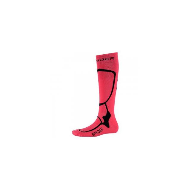 Spyder - Pro Liner Ski Sock Women's, Bryte Pink/Black, S