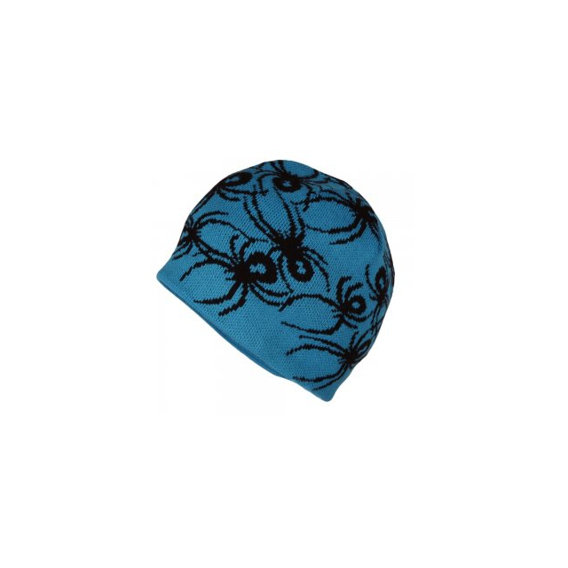 Spyder - Mini Bugs Hat Little Boys', Electric Blue/Black,