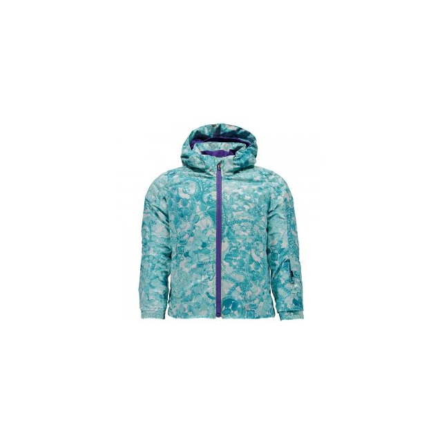 Spyder - Bitsy Glam Insulated Ski Jacket Little Girls', Tacey Freeze/Iris, 2