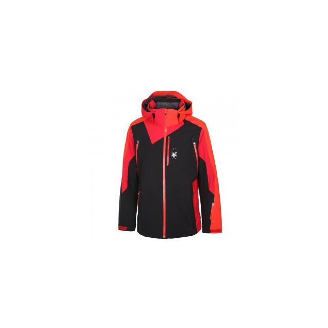 Spyder - Vyper Ski Jacket Men's, Black/Formula/Rage, L