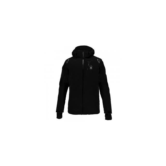 Spyder - Leader Ski Jacket Men's, Black/Black/Black, 3XL