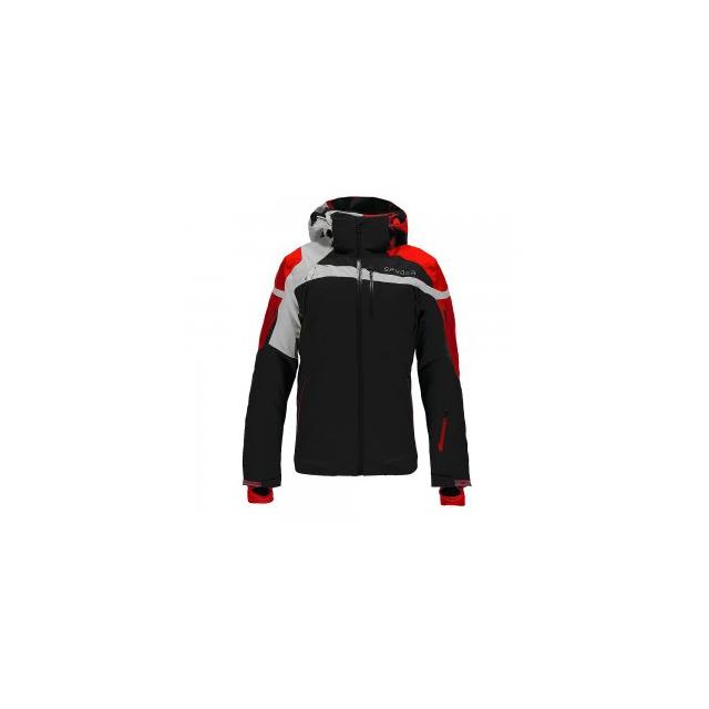 Spyder - Titan Ski Jacket Men's, Black/Formula/Cirrus, L