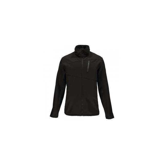 Spyder - Fresh Air Softshell Jacket Men's, Black/Polar, L