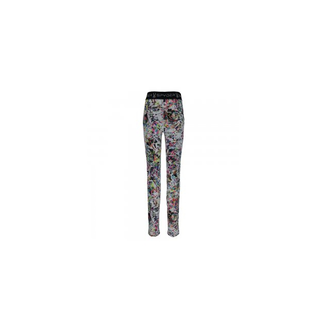 Spyder - Spryte Tight Baselayer Bottom Kids', Kaleidoscope, L
