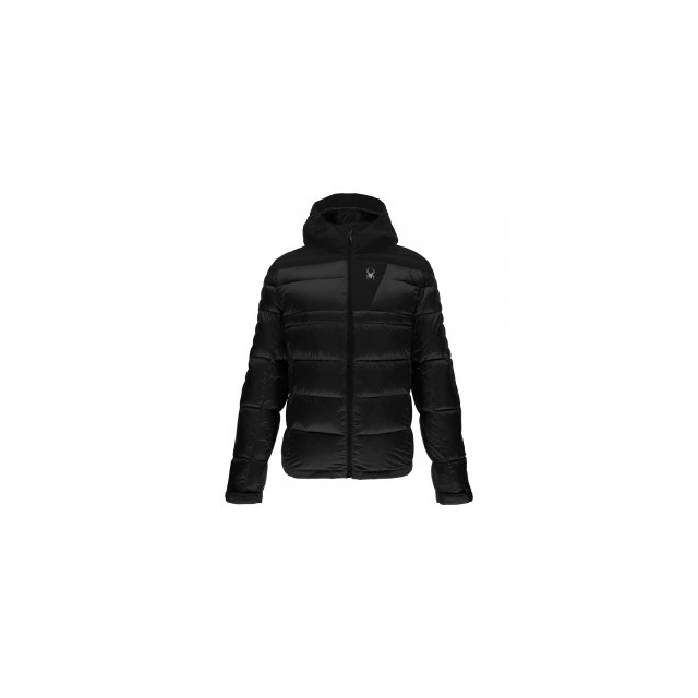 Spyder - Bernese Down Jacket Men's, Black/Black/Black, L
