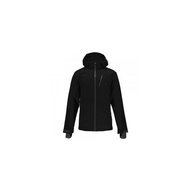 Spyder - Chambers Ski Jacket Men's, Black/Black/Polar, L