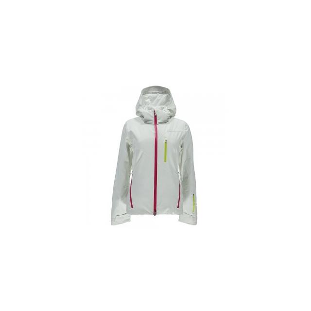 Spyder - Fraction Ski Jacket Women's, White/Voila/Acid, 10