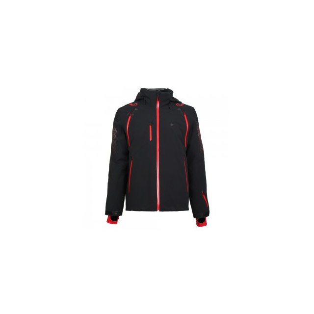 Spyder - Pinnacle Ski Jacket Men's, Black/Formula/Polar, L