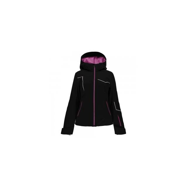 Spyder - Project Ski Jacket Women's, Black/Voila/White