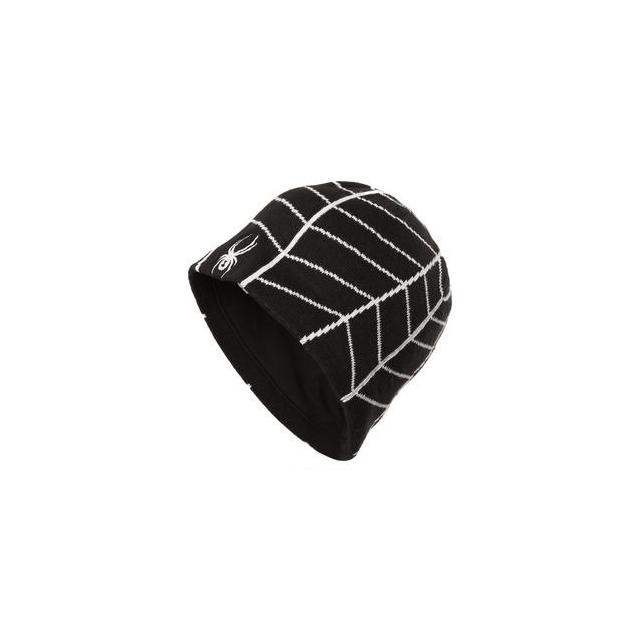 Spyder - Web Hat Men's, Black/Volcano,