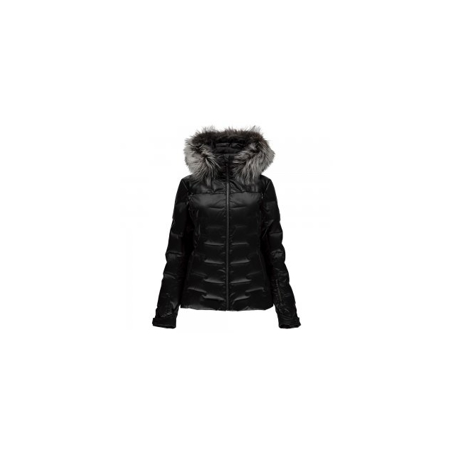 Spyder - Falline Real Fur Down Jacket Women's, Black