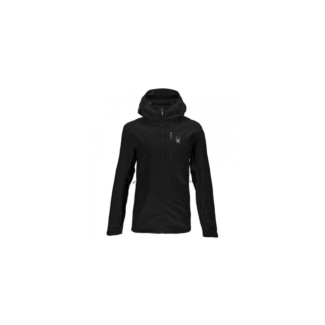 Spyder - Jagged Shell Jacket Men's, Black/Black, L