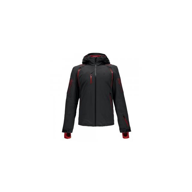 Spyder - Jagged Shell Jacket Men's, Polar/Rage, L