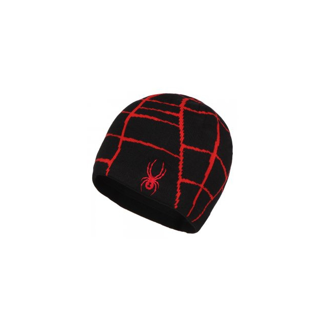 Spyder - Web Hat Boys', Black/Red,