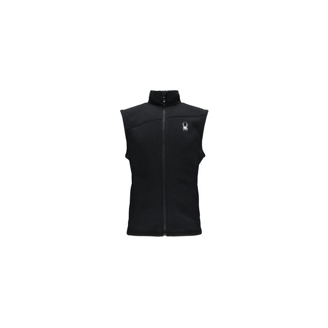 Spyder - Constant Midweight Core Sweater Vest Mid-Layer Men's, Black/Cirrus, S