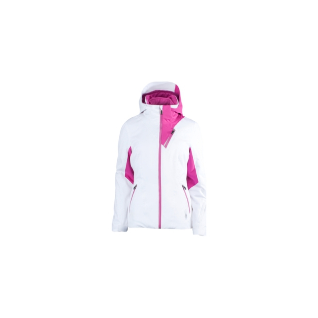 Spyder - Womens Core Suite - 3 In 1 Jacket - Closeout White / Spk 04
