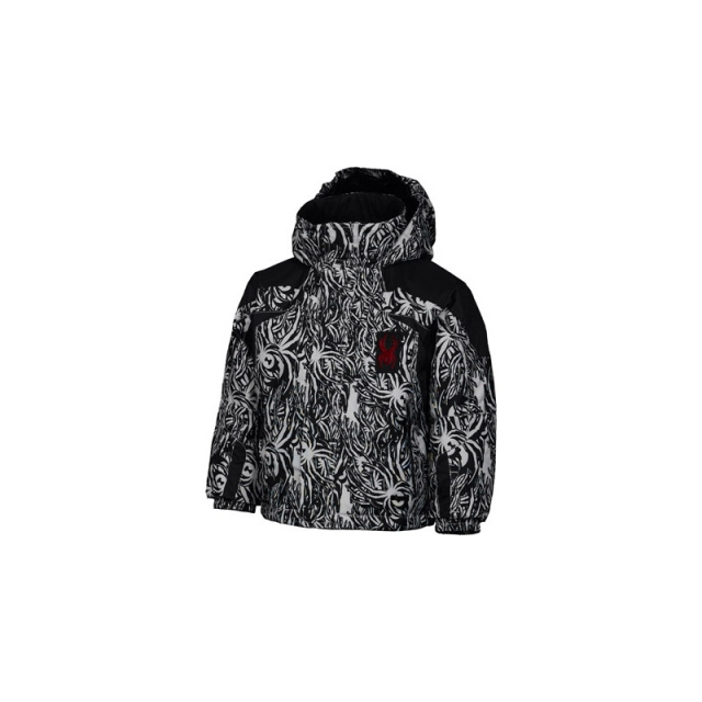 Spyder - Childrens Mini Rival Jacket - Closeout Evaporation Mini Print