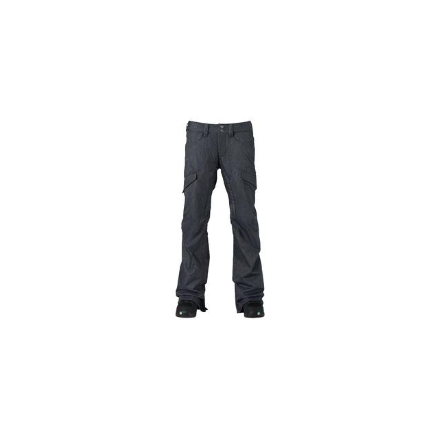 Burton - Lucky Shell Snowboard Pant Women's, Denim, XS