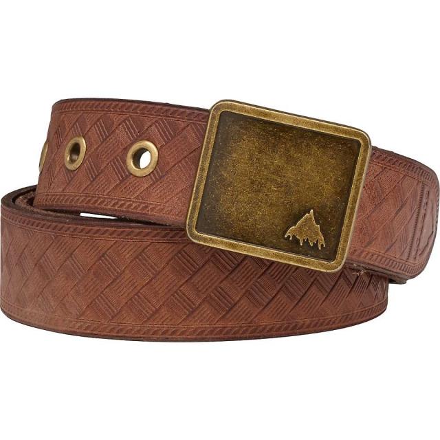 Burton - Embossed Leather Belt - Women's