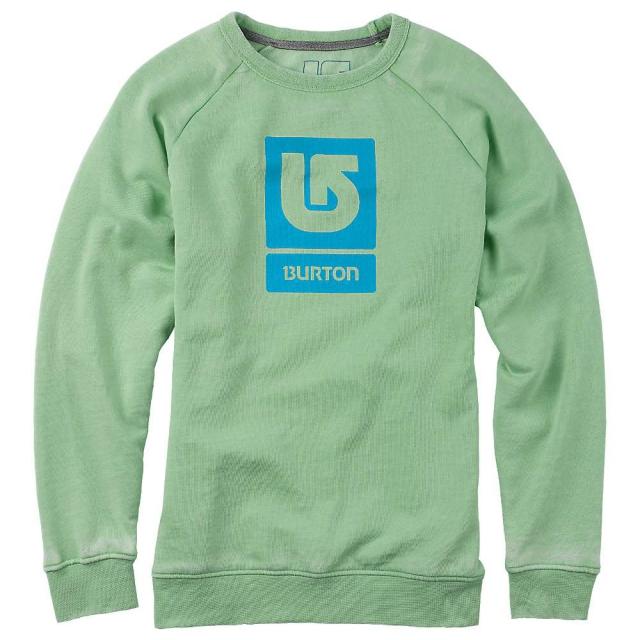 Burton - Logo Vertical Fill Crew Sweatshirt - Women's