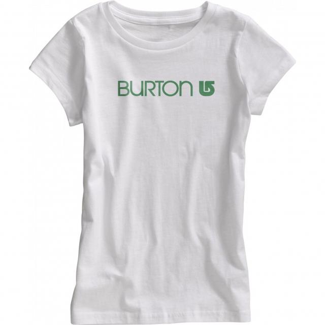 Burton - - Her Logo SS Girls - X-Large - Stout White