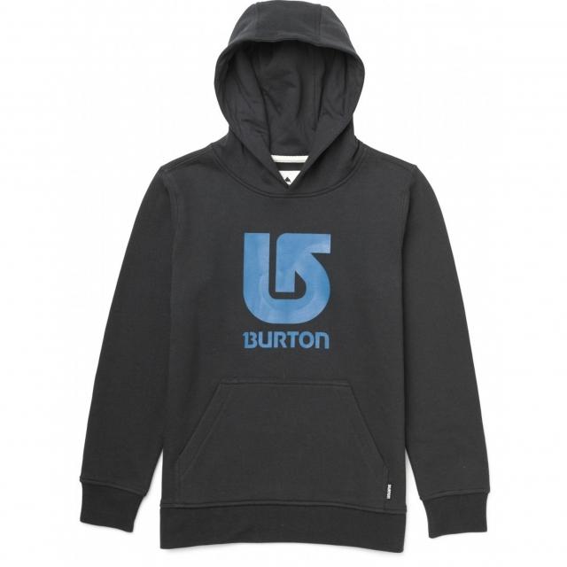 Burton - - Logo Vertical Boys - Large - True Black
