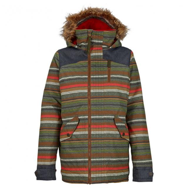 Burton - - Hazel Jacket W - small - Blanket Stripe