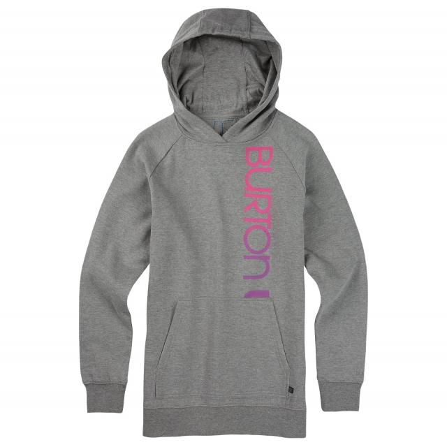 Burton - - Antidote Pullover hood W - x-small - Gray Heather