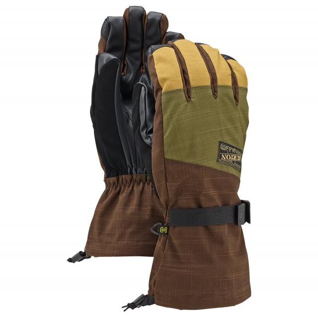 Burton - - Aproach Glove Mens - Small - Keef/Mocha/Evilo Black