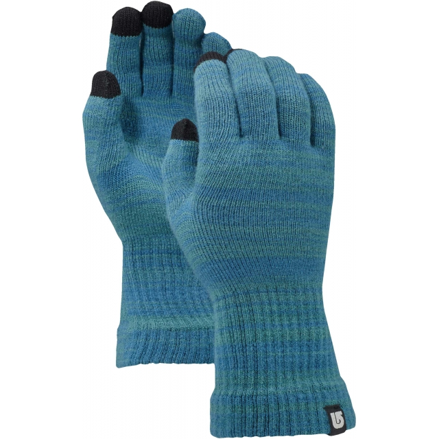 Burton - - TOUCH N GO KNIT GLOVE - SM/MD - Tundra/Jaded Marl