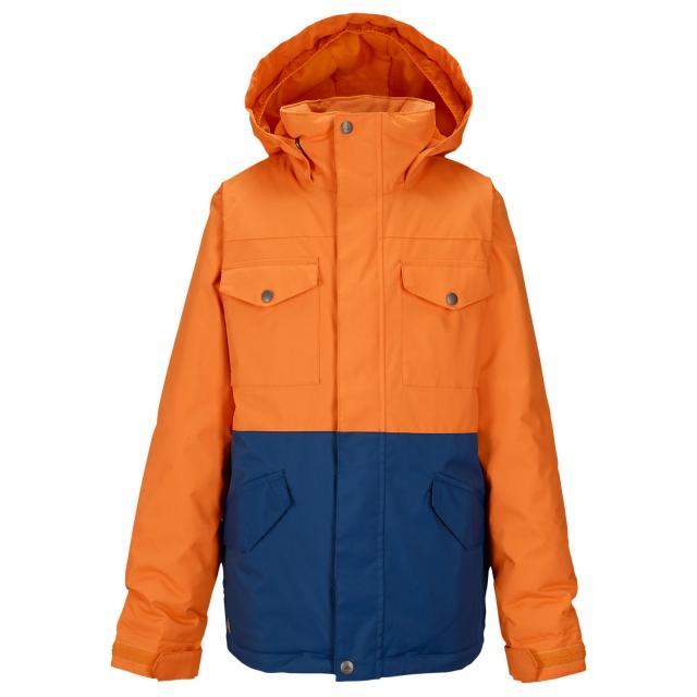 Burton - - Boys Fray Jacket - medium - Safety/Boro