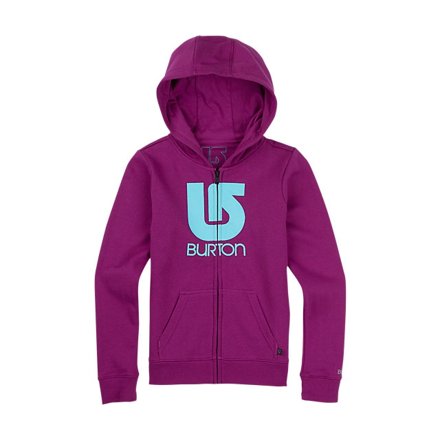 Burton - - Girls Logo Vertical FZ - large - Lush