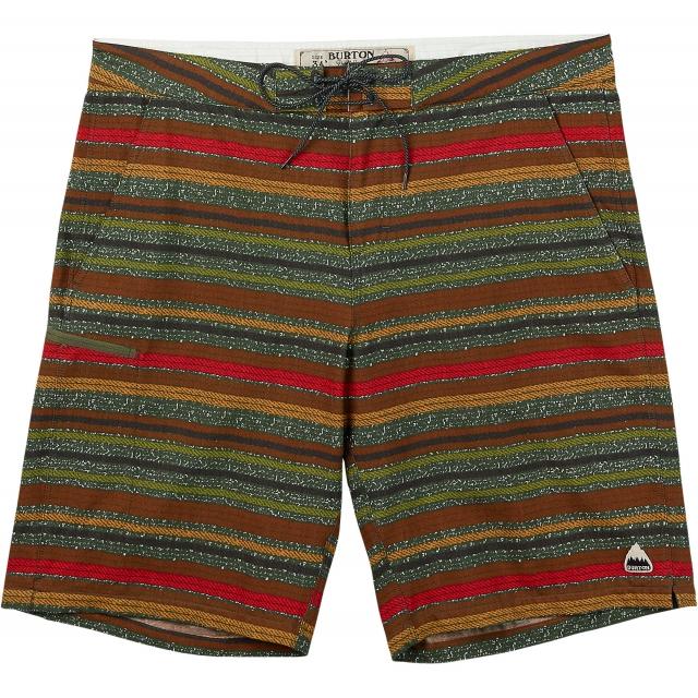 Burton - - MOXIE BOARSHORT - 32 - Keef Blanket Stripe