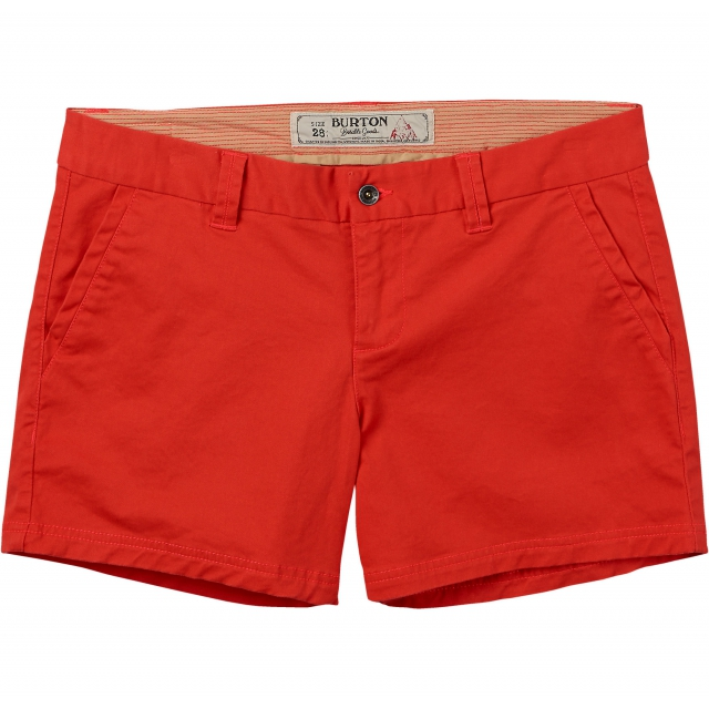 Burton - - MID SHORT - 25 - Hot Coral